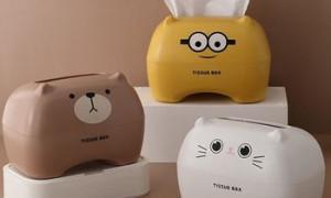 纸巾盒设计(家居中的小创意,趣味纸巾盒!)